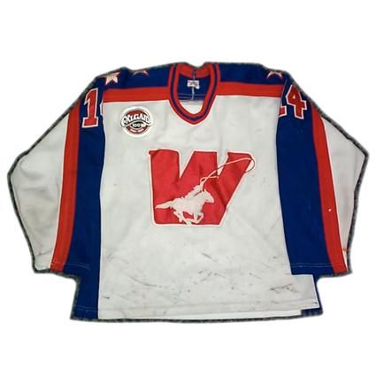Calgary Wranglers 83-84 Jersey