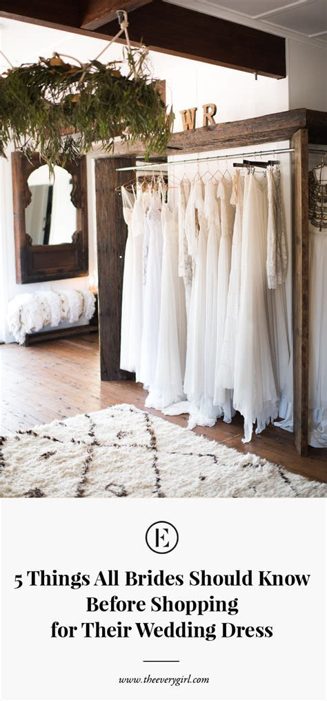 5 Things All Brides Should Know Before Shopping for Their