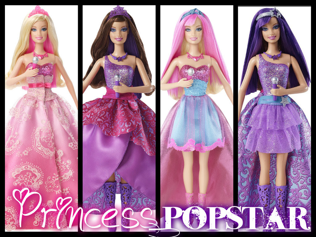 Princess And Popstar Dolls Barbie Films Foto