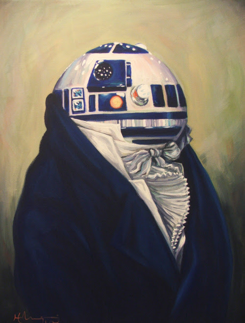 Duke R2-D2 by Hillary White