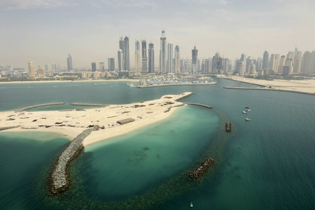 18. Jumeirah Beach Residence opened in 2008. Today, the area includes 35 residential towers and five hotels.  in the world, Dubai, Beauty