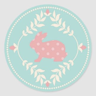 Chic Bunny Sticker B R