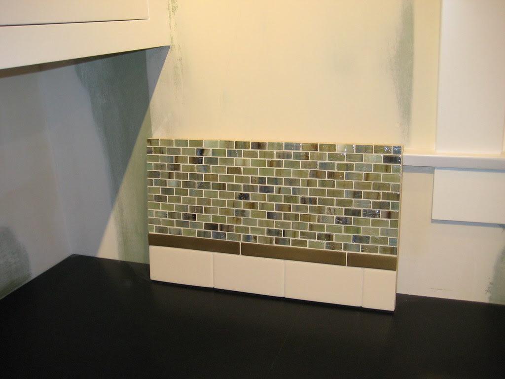 Glass Tile Backsplash