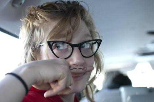 If Sophia had a mustache...