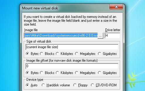 برنامج مميز وخفيف جداً لتشغيل وحرق الاقراص بمختلف انواعها ImDisk 1.5.7 مجانى