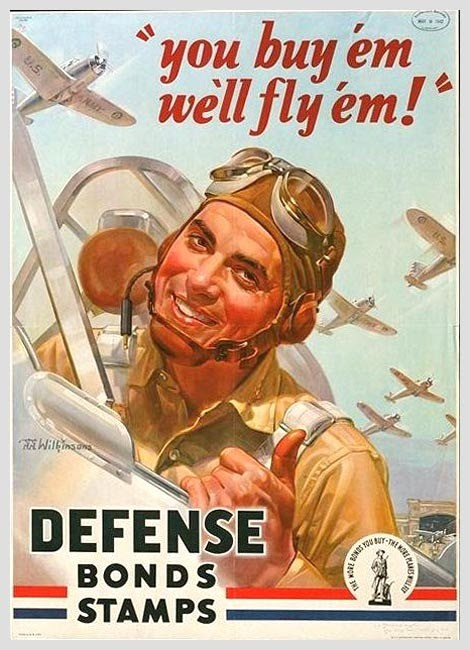World War 2 Poster (American)  These are the airplanes we own.