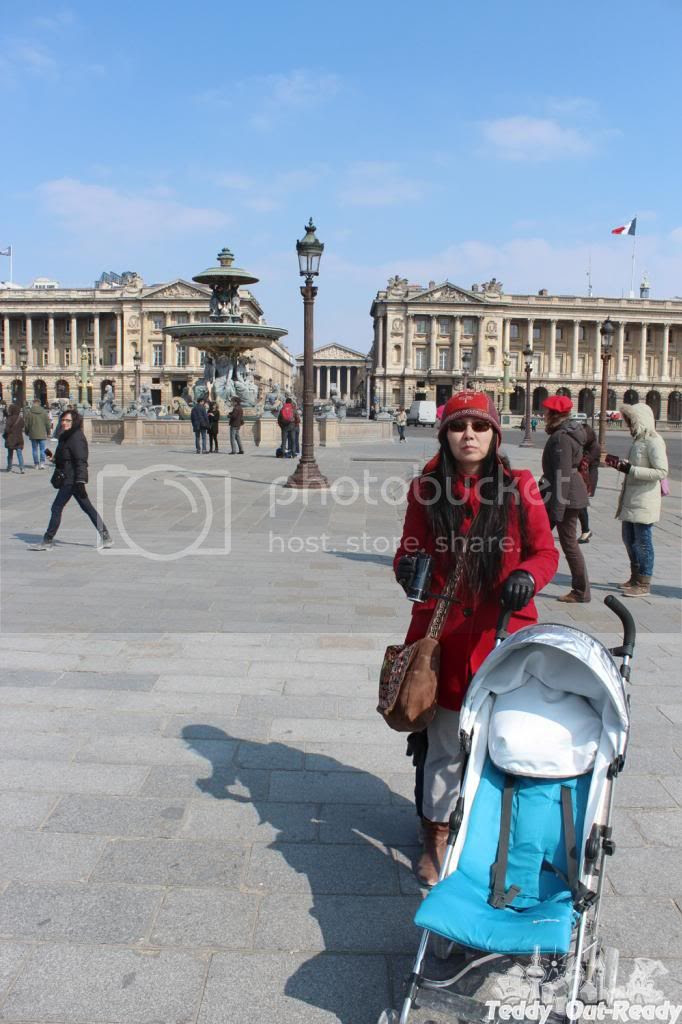 Using stroller in Paris