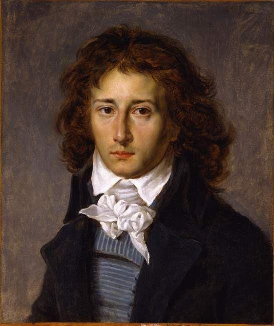 François Gerard (1790) retratado por Antoine Jean Gros