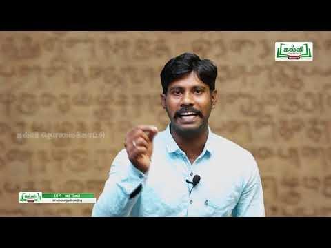 10th Tamil செயற்கை நுண்ணறிவு இயல் 4  Kalvi TV