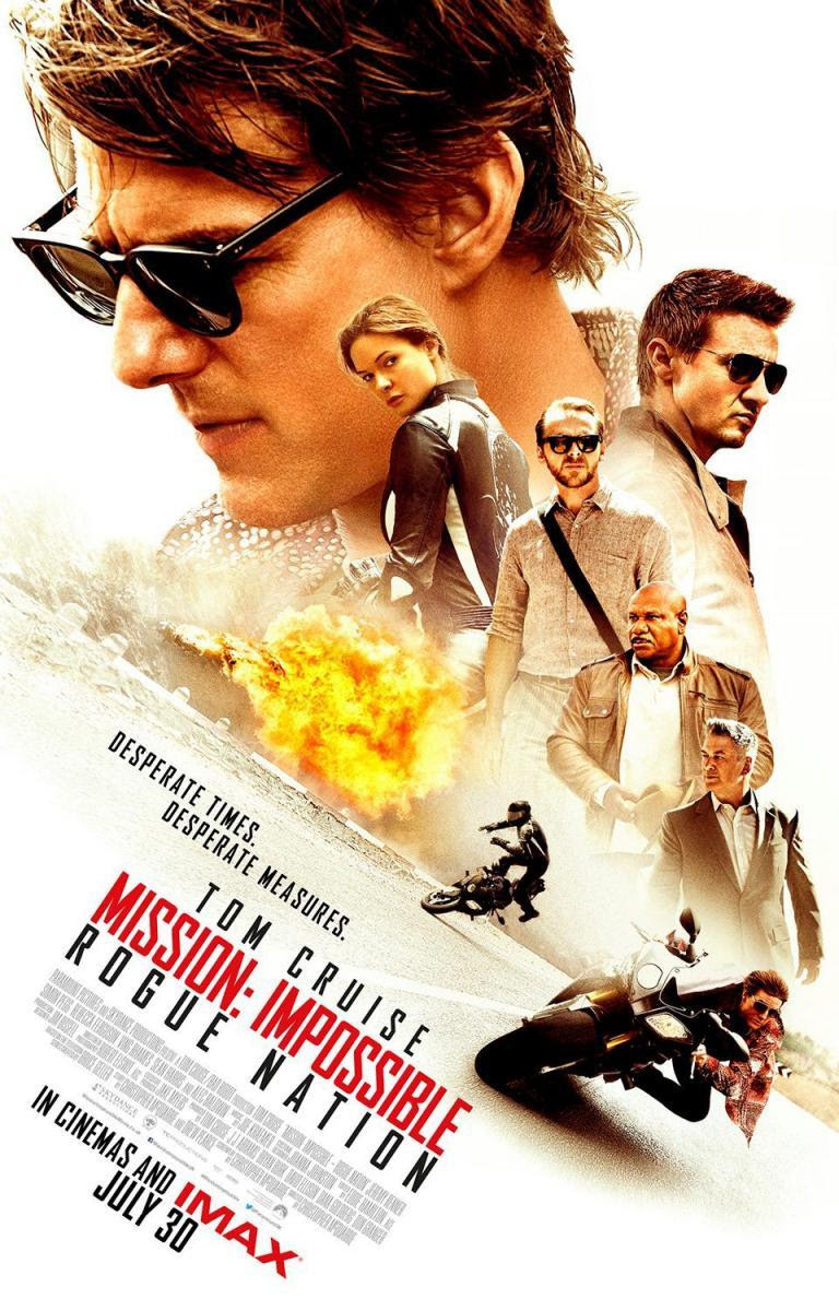 Mission Impossible, rogue Nation, Misión Imposible, Nación Secreta, película, blog solo yo, blog de cine, solo yo,