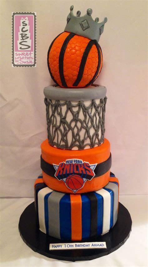 NY Knicks inspired birthday cake!   SWEET CREATIONS BY