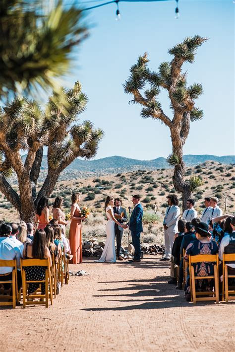 Joshua Tree Wedding at Rimrock Ranch California   The Foxes