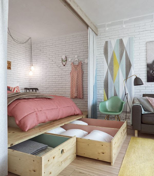 12 Bedroom Storage Ideas to Optimize Your Space - Decoholic