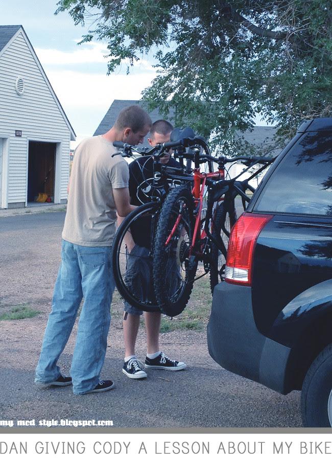 Dan & Cody with Bikes