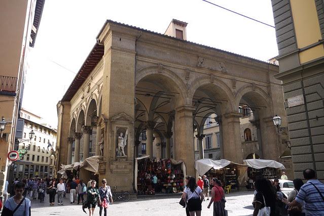 Loggia Del Mercato Nuovo 新市場迴廊