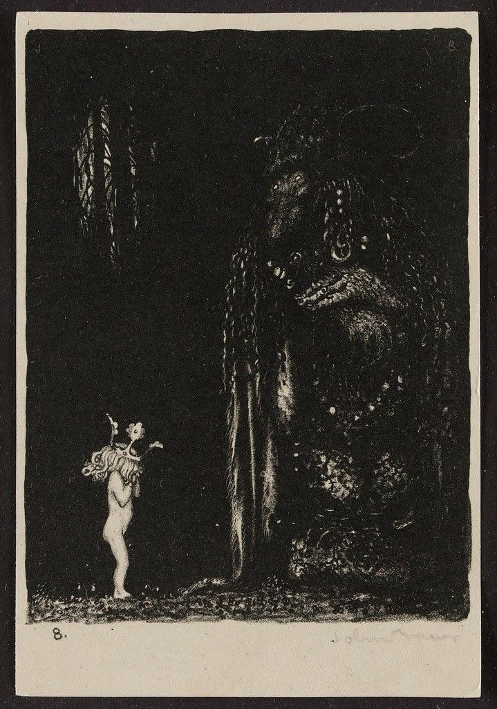 John Bauer - Lithograph 7 (1915)