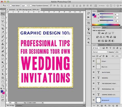Wedding Invitation Graphic Design, Everything You Need To