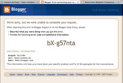 Another blogger error