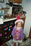 Princess Alex and her self-made b-day cake