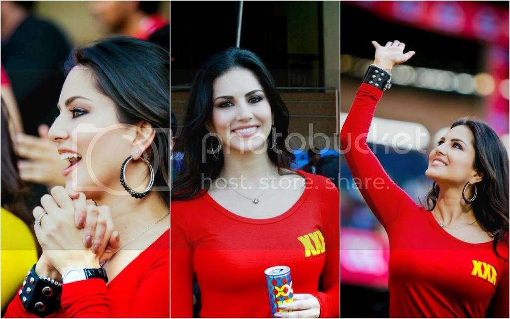 Sunny Leone CCL4 Mumbai Match Photos