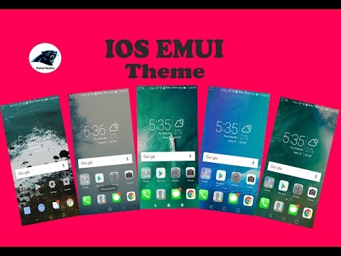 Latest Top 5 IOS EMUI 2017 huawei Theme