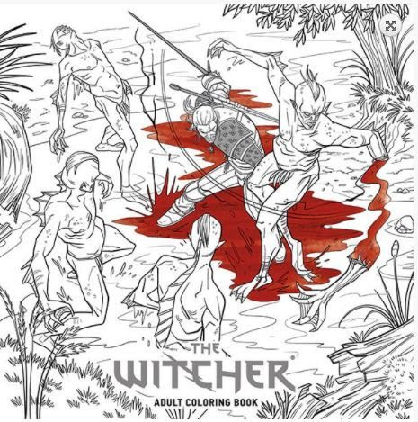The Witcher 3 Wild Hunt Recibirá Un Libro Para Colorear El 1 De