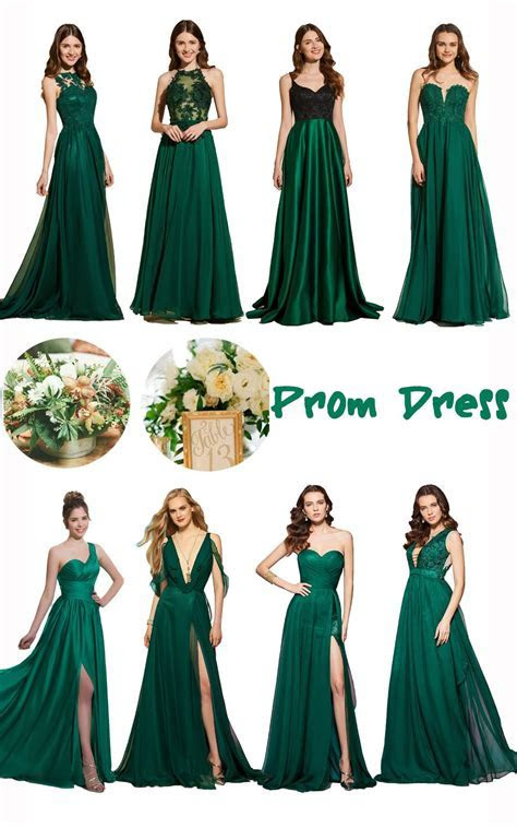 New arrival green prom dress. #prom #party Product ID
