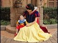 Toddler With Autism Falls In Love With Snow White At Walt Disney World - Video