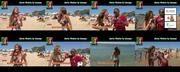 Melhor na TV 2015/681 - Marta Viveiros sexy em bikini na praia