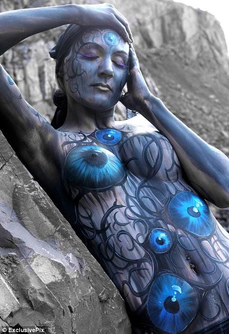 Amazing Body art by Gesine Marwedel\n©exclusivepix