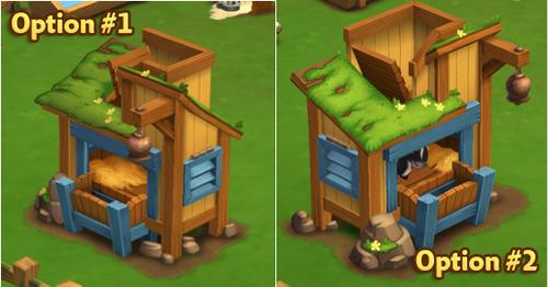 Goat Shelter - Options - FarmVille 2