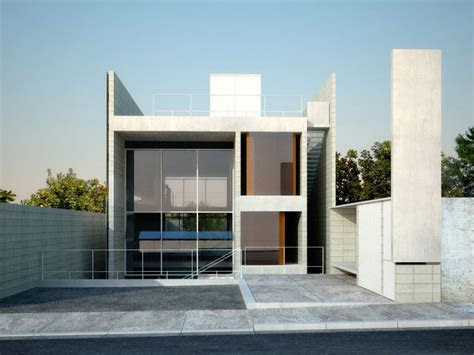 simple modern house architecture  minimalist style