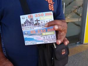 amapá, macapá, bilhete, loteria federal (Foto: John Pacheco/G1)