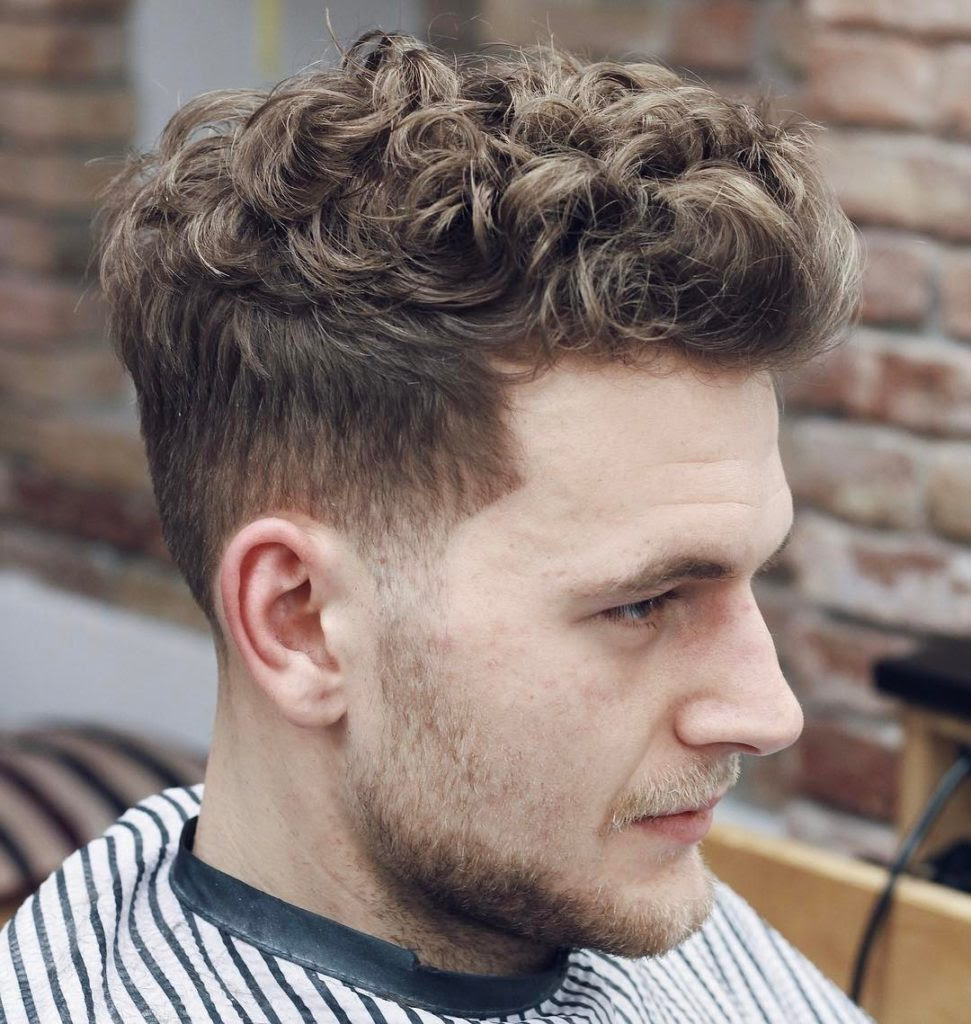18 Curly Hairstyles For Men To Look Charismatic Haircuts