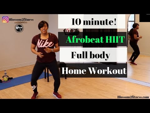 How To Lose Weight Dancing At Home With Afrobeat HIIT Workout