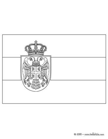 Flaggen Zum Ausmalen Spanien