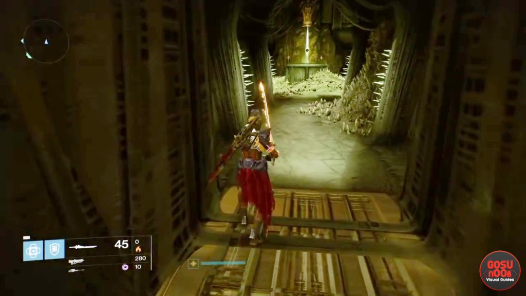 destiny taken king king's fall secret room guide