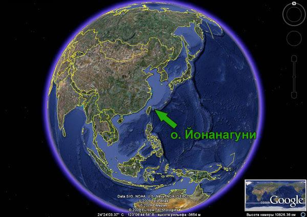 Положение о. Тонгатапу на карте мира