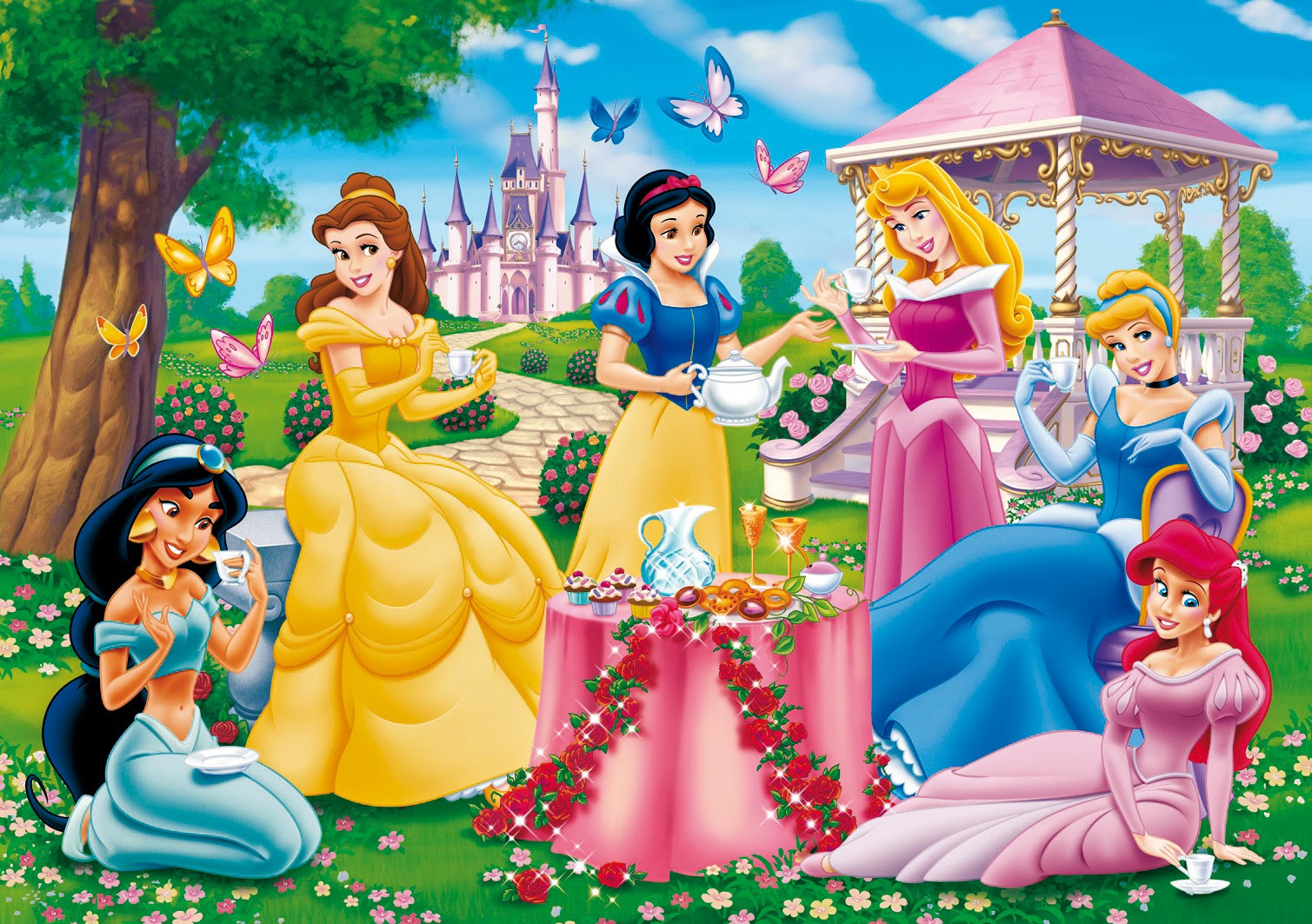 Disney Princess Images SF Wallpaper