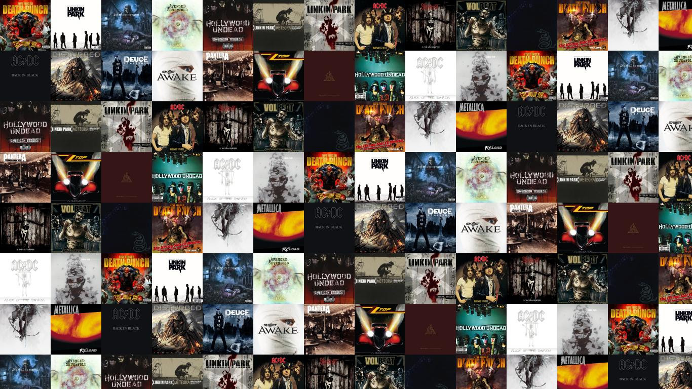 Five Finger Death Punch Got Your Six Linkin Wallpaper Tiled