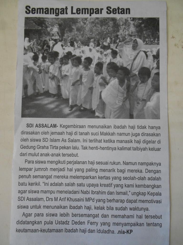 Manasik Haji 2011 (Koran Pendidikan)