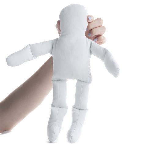 "12"" Pre Stuffed Natural Muslin Doll   Muslin Dolls and"