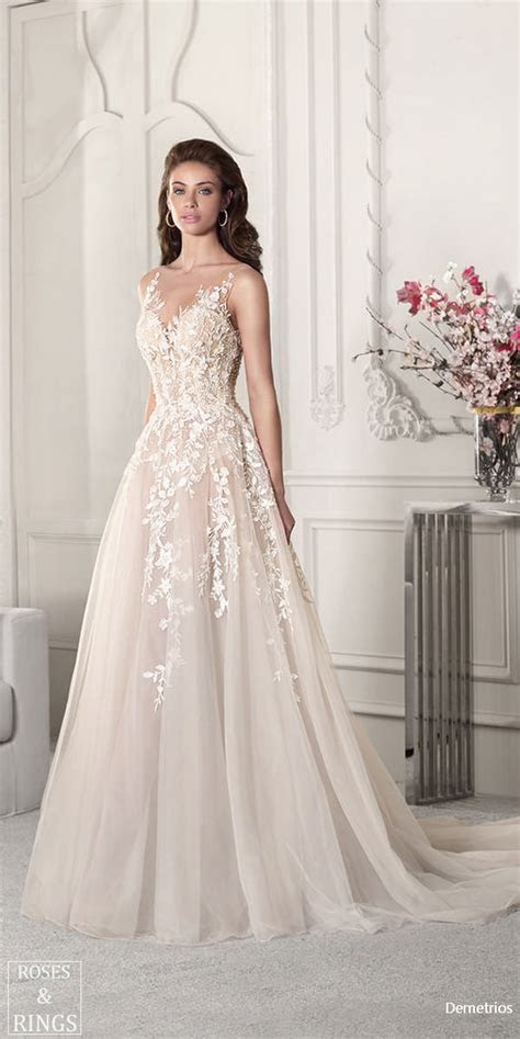 Demetrios Bridal 2019 Wedding Dresses   Roses & Rings