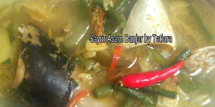 Resep SAYUR ASAM Banjar Oleh Tatiara