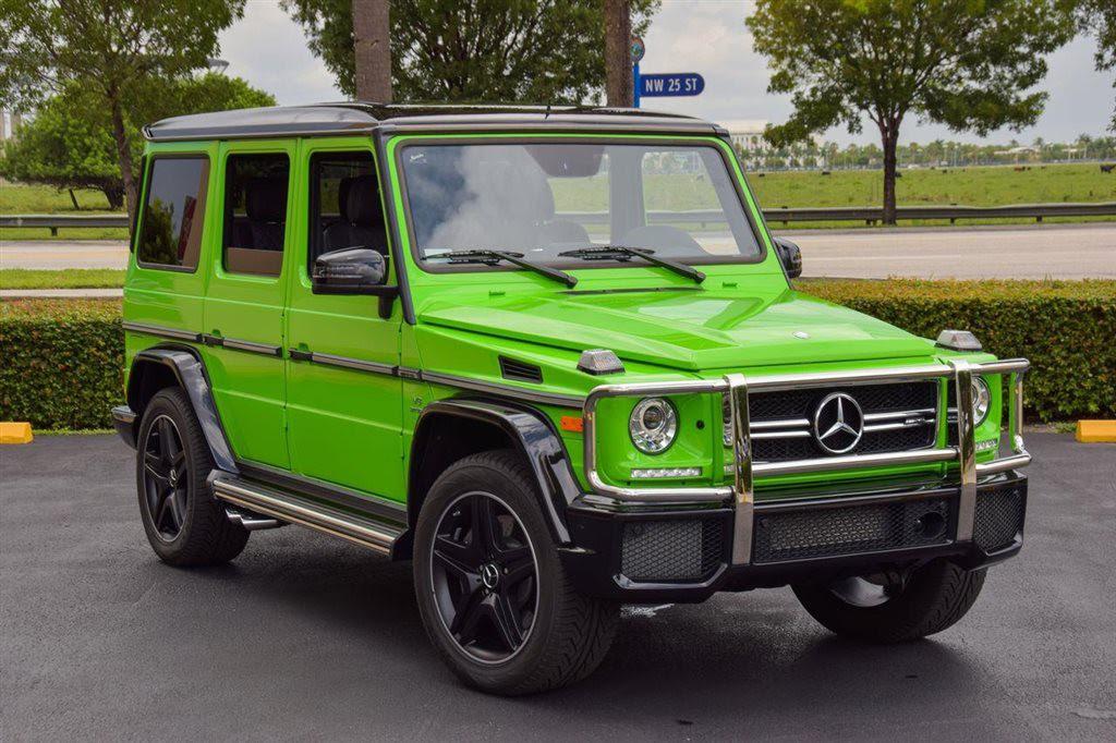 Alien Green Mercedes-Benz G63 AMG - Exotic Car List