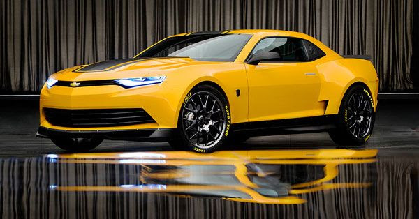 Bumblebee will be disguised as a 2014 Concept Camaro in TRANSFORMERS 4.