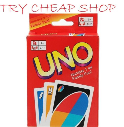 Poker Card Games Uno Card Game 108 Cards Great Family Fun Friend Children Travel Party Uk Seller Com