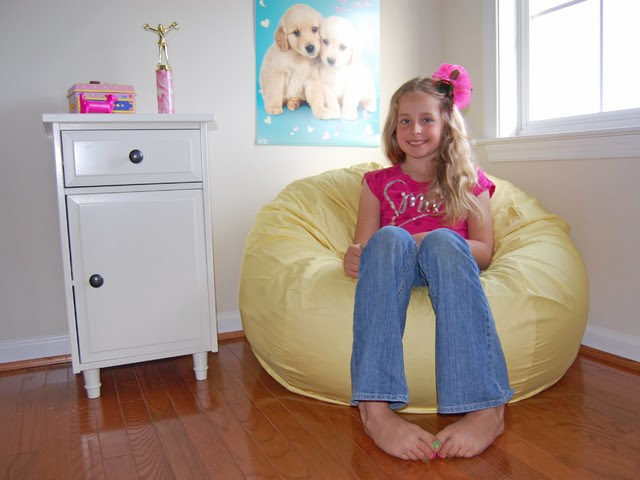 Bean Bag Chairs for Girls Rooms - Traditional - Kids ...