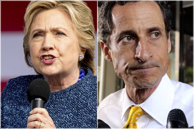 Image result for clinton weiner