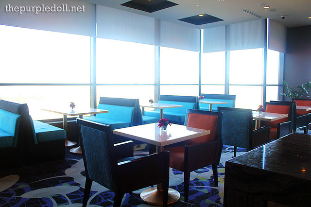 Bellevue Manila Signature Club Lounge Dining Area
